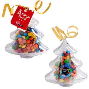 Acrylic Trees filled with M&Ms
