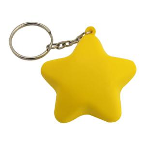 Stress Shape - Star Key Ring